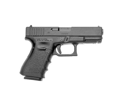 Glock 23 Standard .40S&W 4.02″ 10+1 W/FS Polymer Grip Black