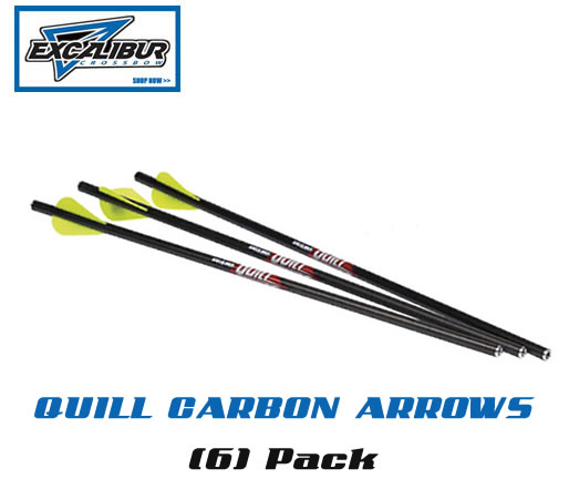 QUILL Carbon Arrows (6)-Pack